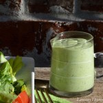 Green Goddess Salad Dressing from Lemony Thyme