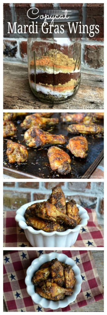 Publix Mardi Gras Chicken Wings