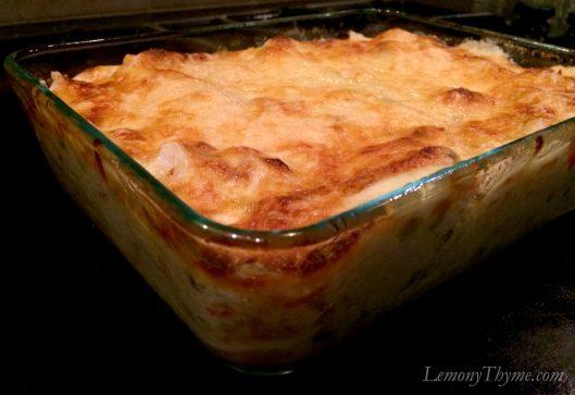 Seafood Lasagna3