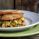 Roasted Lobster & Corn Cake Grilled Cheese Sandwich5
