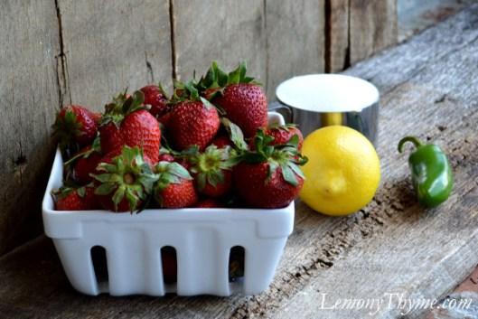 Strawberry Jalapeno Skillet Jam