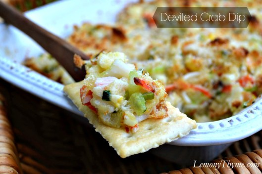 Deviled Crab Dip from Lemony Thyme