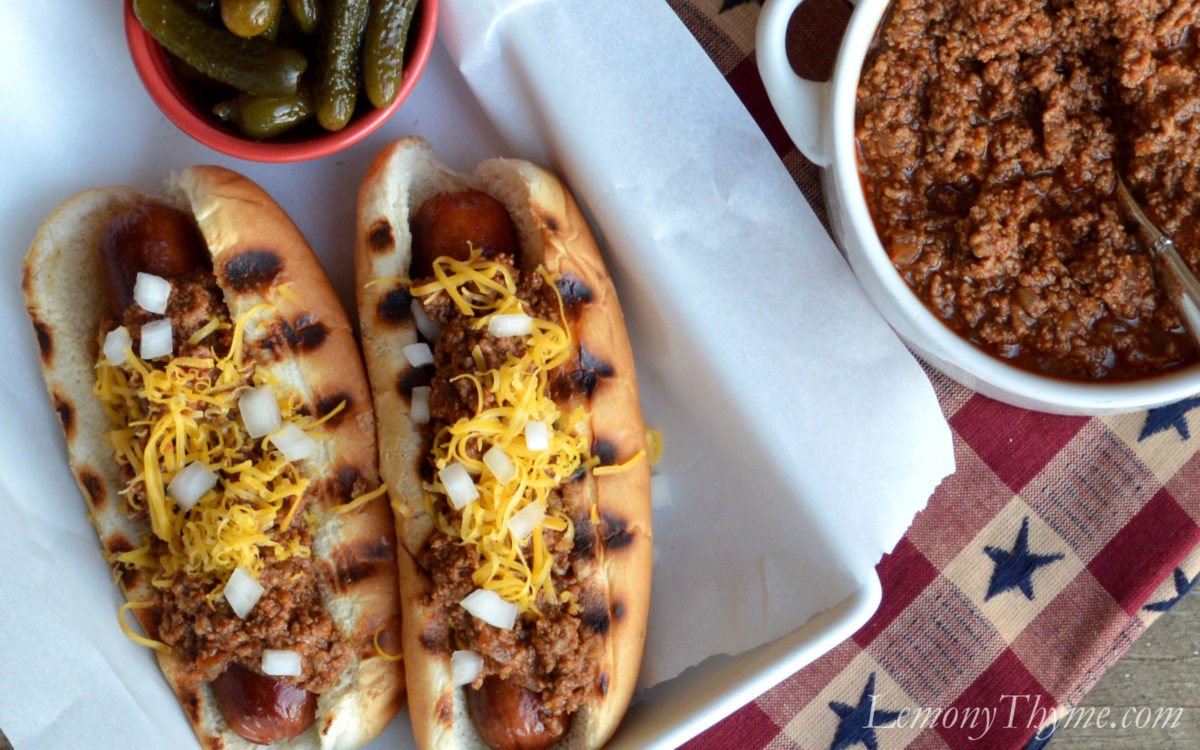 Make-Ahead Hot Dog Chili