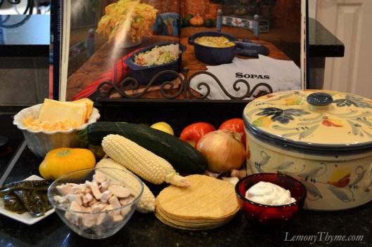 Aztec Casserole Ingredients