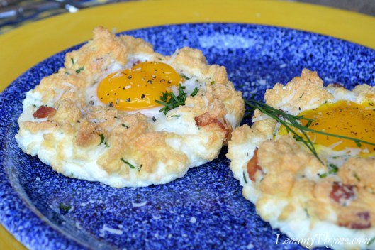 Baked Eggs in Clouds1