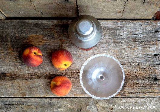 Peaches & Cream Martini2