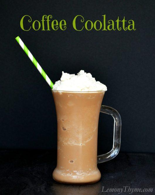 Dunkin Donuts Coffee Coolatta