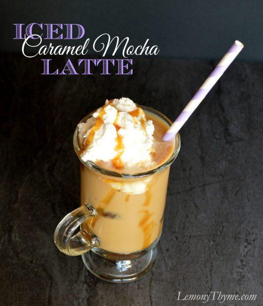 Iced Caramel Mocha Latte