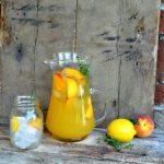 Peach & Thyme Lemonade