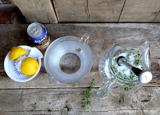 Lemony Thyme Peach Lemonade2