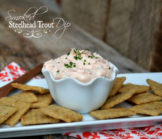 Smoked Steelhead Trout Dip from Lemony Thyme