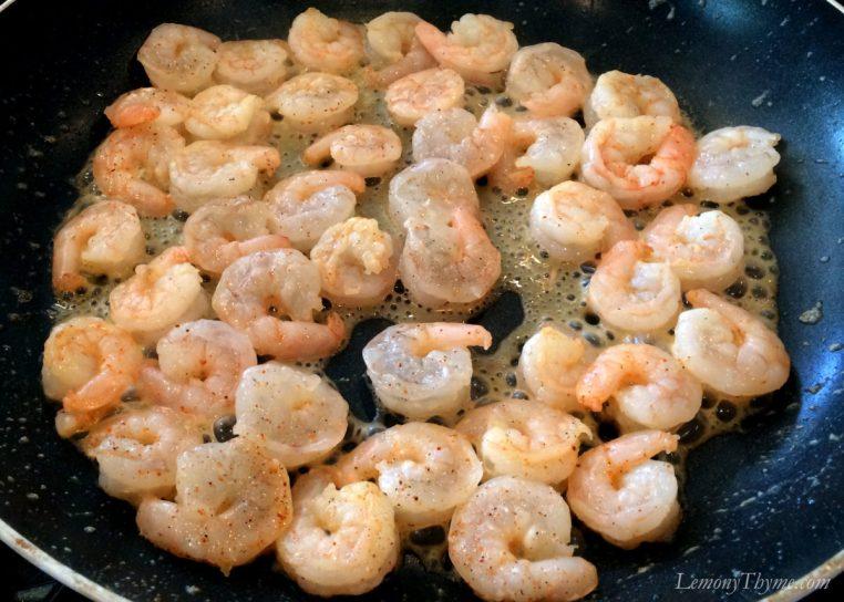 Spicy Shrimp & Spinach Quesadillas