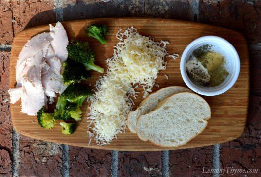 Turkey Divan Grilled Cheese Sandwich1