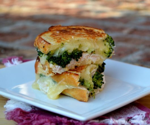 Turkey Divan Grilled Cheese Sandwich3