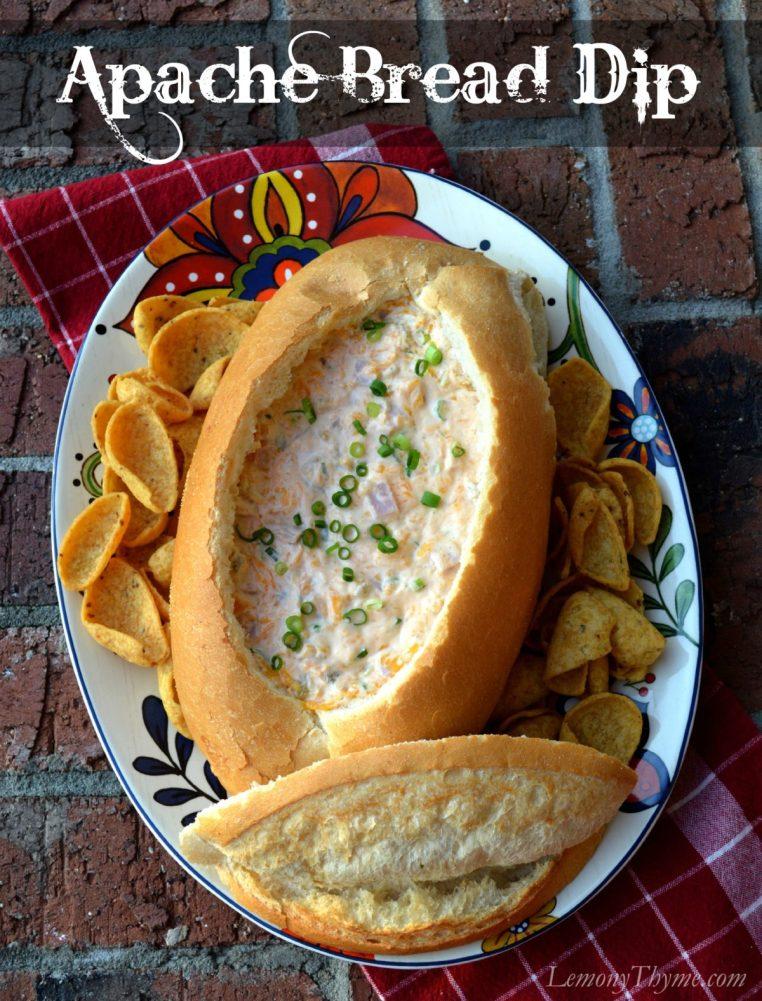 Apache Bread Dip from Lemony Thyme