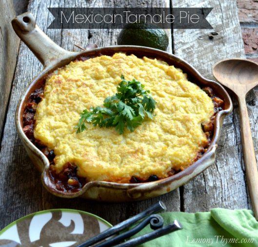 Mexican Tamale Pie   LemonyThyme.com   #glutenfree