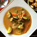 Roasted Veggie & White Bean Chowder
