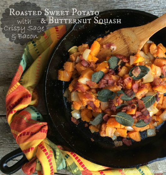 Sweet Potato & Butternut Squash with Crispy Sage & Bacon1