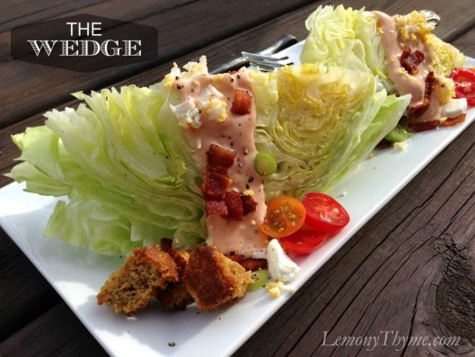 The Wedge Salad from Lemony Thyme