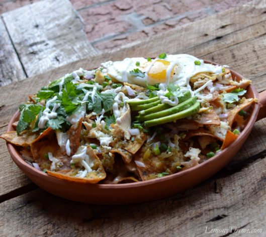 Chicken Chilaquiles6