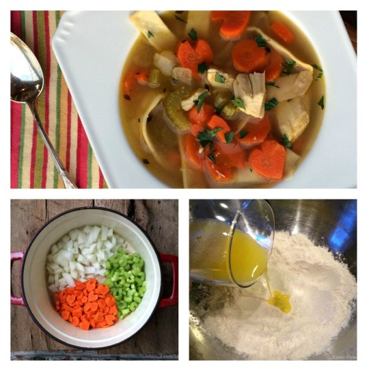 Chicken Noodle Soup Collage