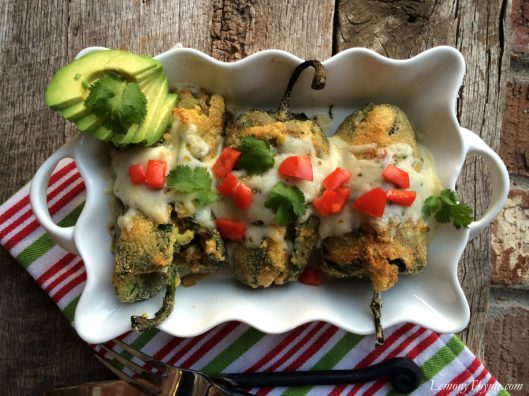 Crab Stuffed Chile Rellenos5
