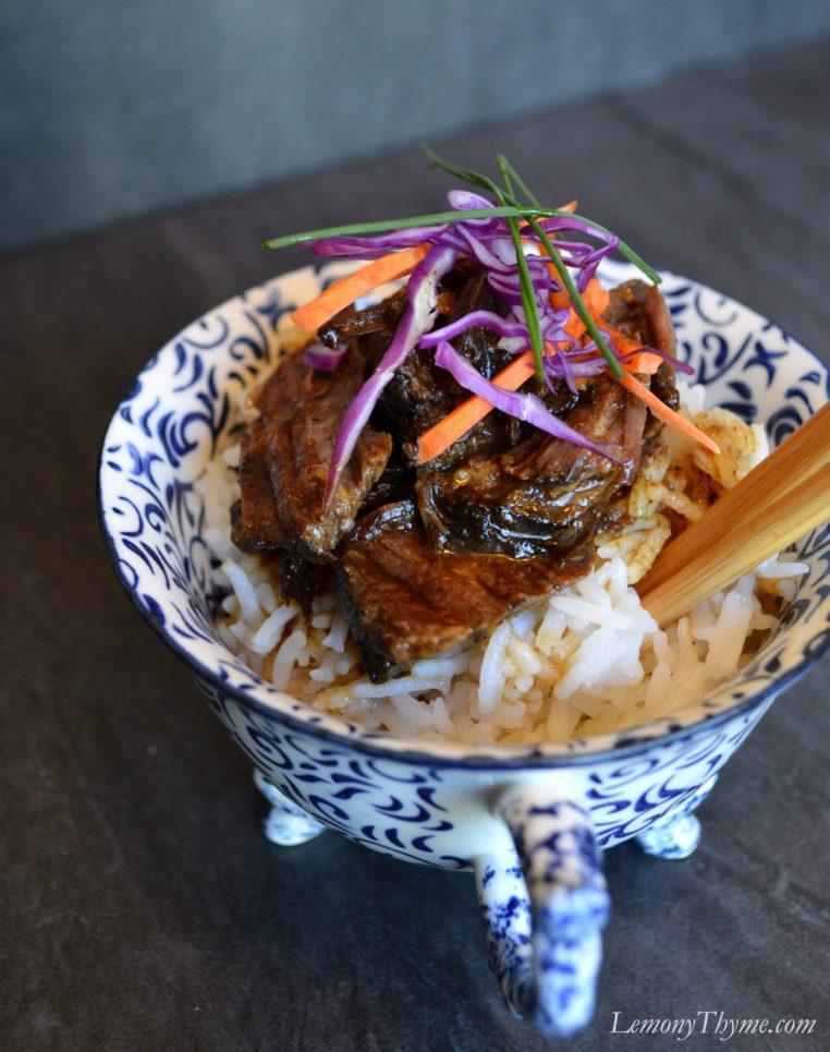 Crockpot Korean BBQ Beef