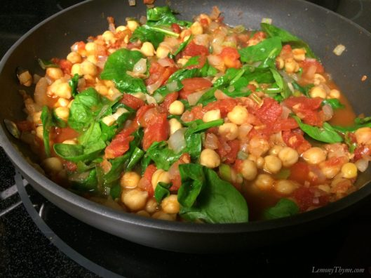 Chickpea and Spinach Stew3