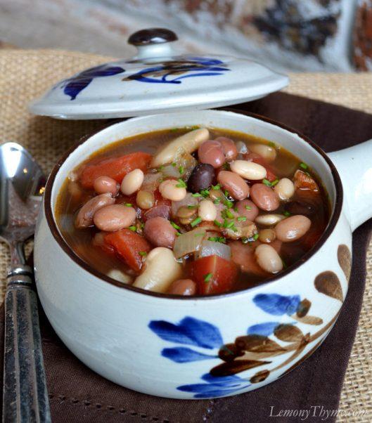 Loaded Bean Soup