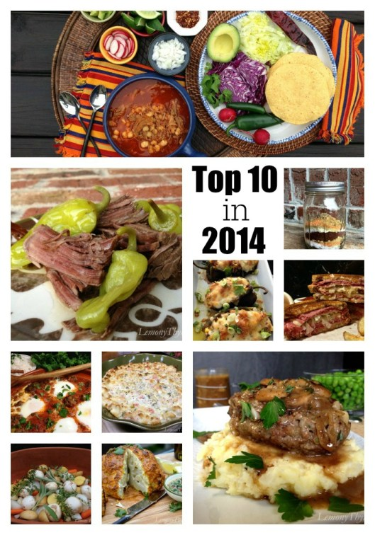 10 Most Viewed Recipes in 2014