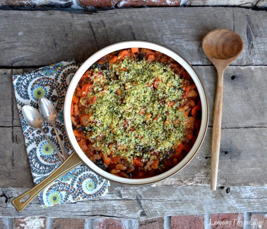 Sausage & Thyme Cassoulet Recipe2