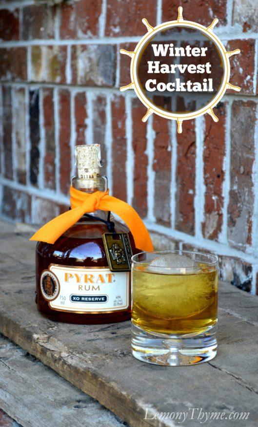 Pyrat Rum Winter Harvest Cocktail