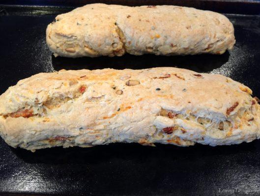 Cheddar-Parmesan Savory Biscotti1