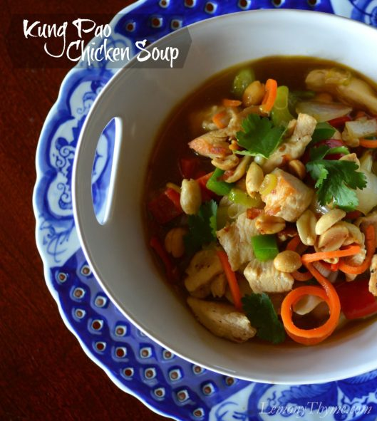 Kung Pao Chicken Soup