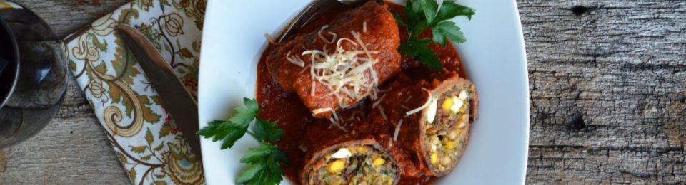 Braciole Italian Beef Rolls1