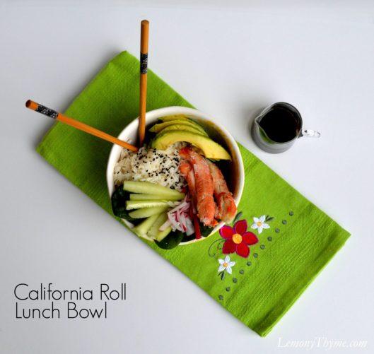 California Roll Lunch Bowl