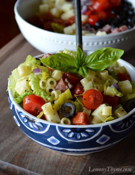 Chopped Italian Submarine Salad6