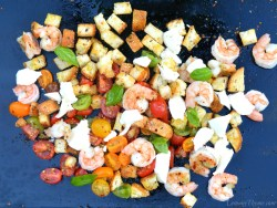 Caprese Panzanella with Shrimp1