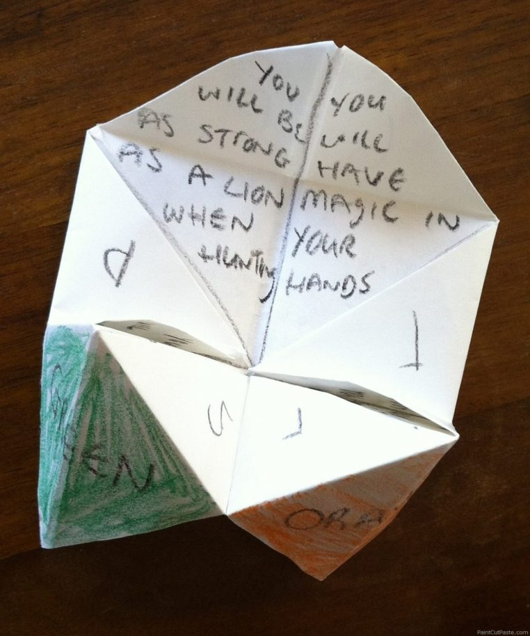 Fortune love notes