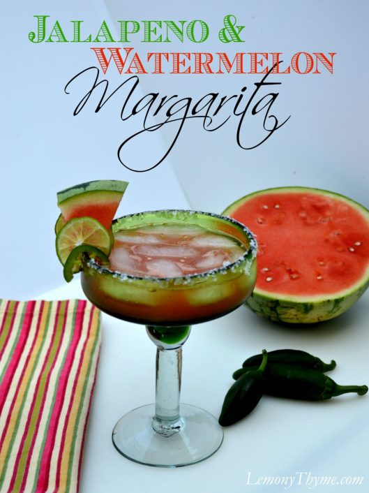 Jalapeno & Watermelon Margarita