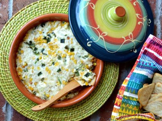 Roasted Corn & Poblano Crab Dip3