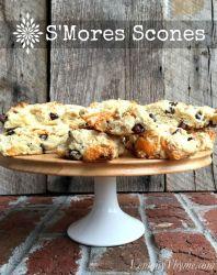 S'Mores Scones | LemonyThyme.com