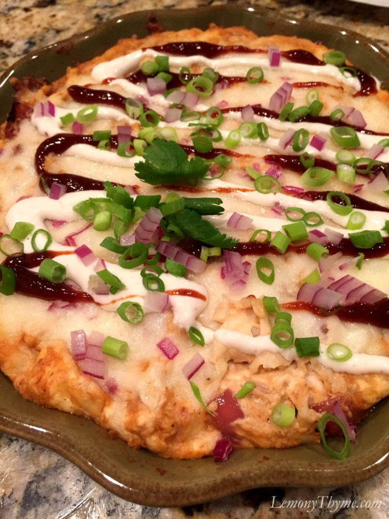 BBQ Chicken Pizza Dip6