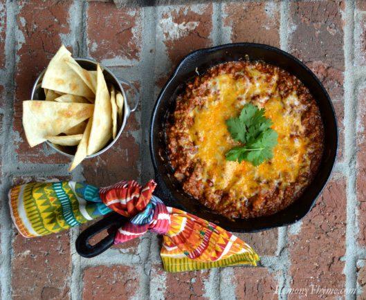 Cheesy Beef Enchilada Dip1
