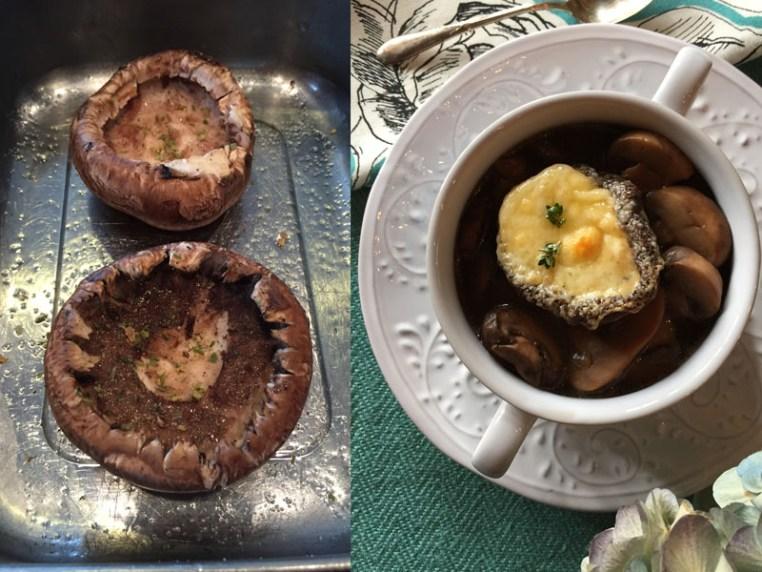 Mushroom Soup with Cheesy Portobella Crouton5