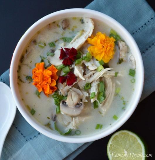 Thai Coconut Chicken Soup3