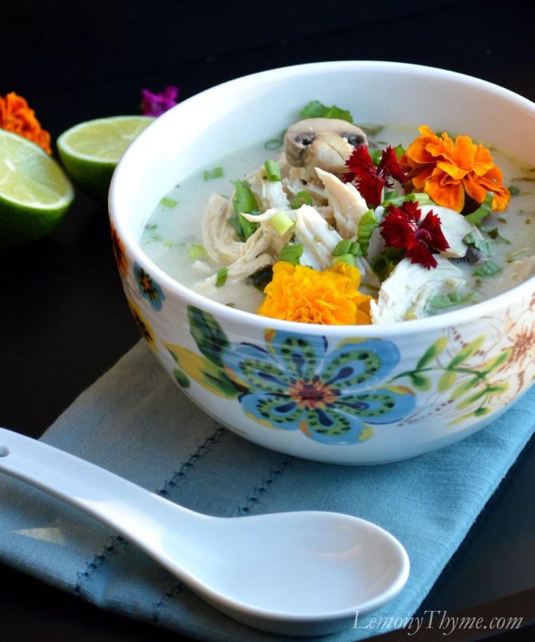 Thai Coconut Chicken Soup5