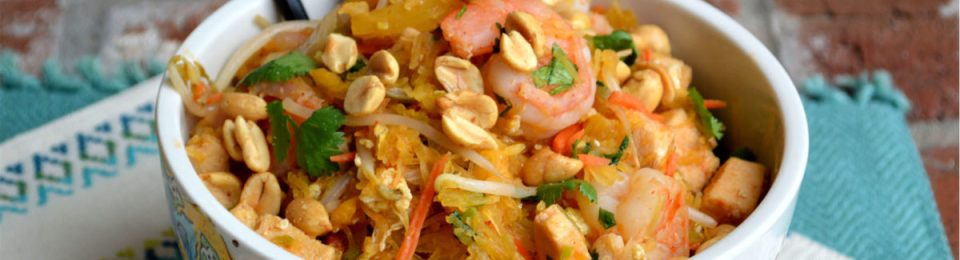 Easy Pad Thai with Spaghetti Squash4