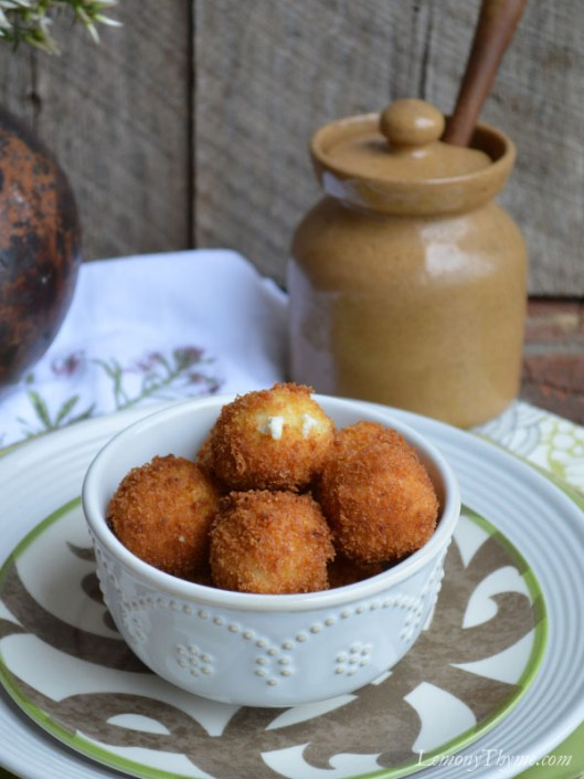 Warm Goat Cheese Fritters2