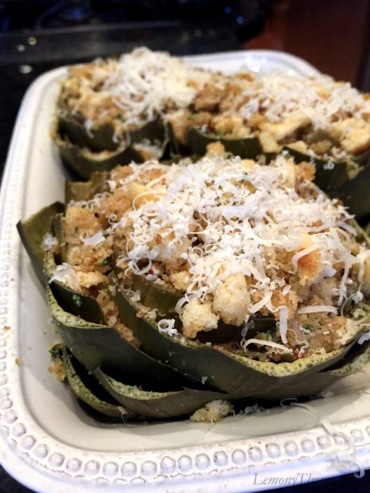 Stuffed Artichokes1